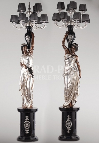 Figura 1598/SL Pair of Neoclassical damsels